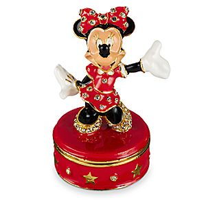 Minnie Mouse Trinket Box by Arribas Brothers