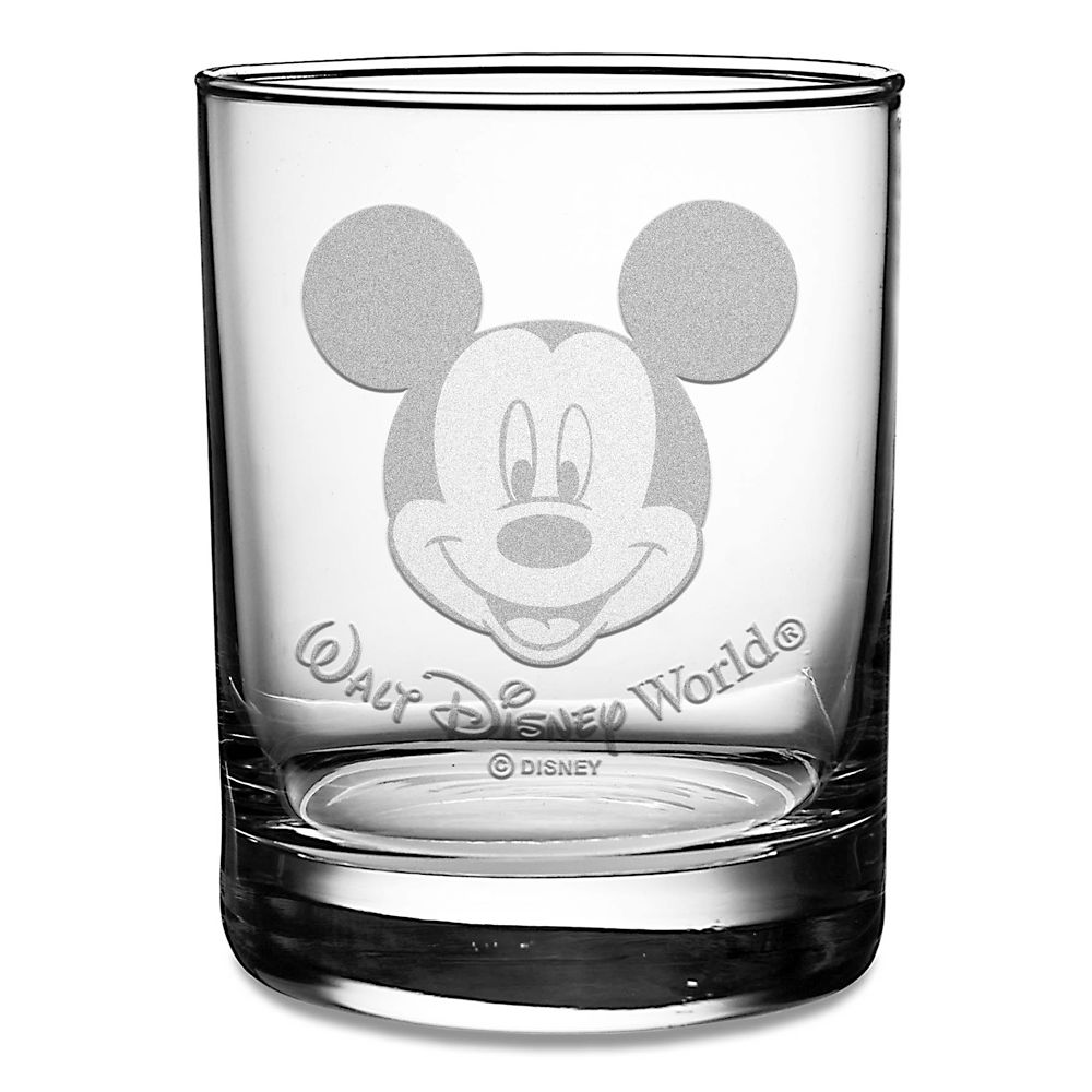 Mickey Mouse Walt Disney World Glass by Arribas – Personalizable
