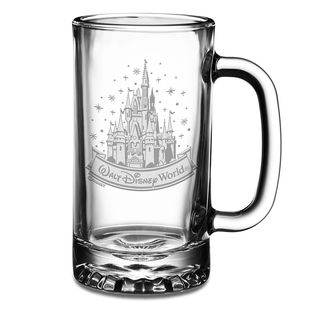 Walt Disney World Cinderella Castle Glass Sport Mug by Arribas – Personalize