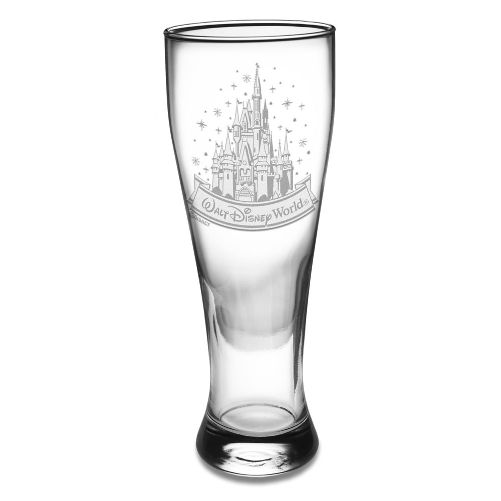 Walt Disney World Cinderella Castle Cylinder Glass by Arribas – Personalize
