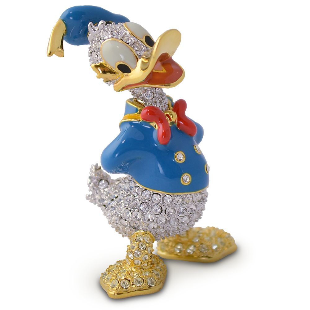 Donald Duck Jeweled Figurine by Arribas