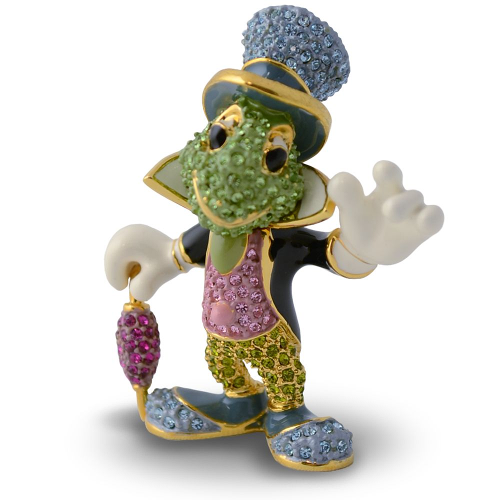 Jiminy Cricket Jeweled Figurine by Arribas