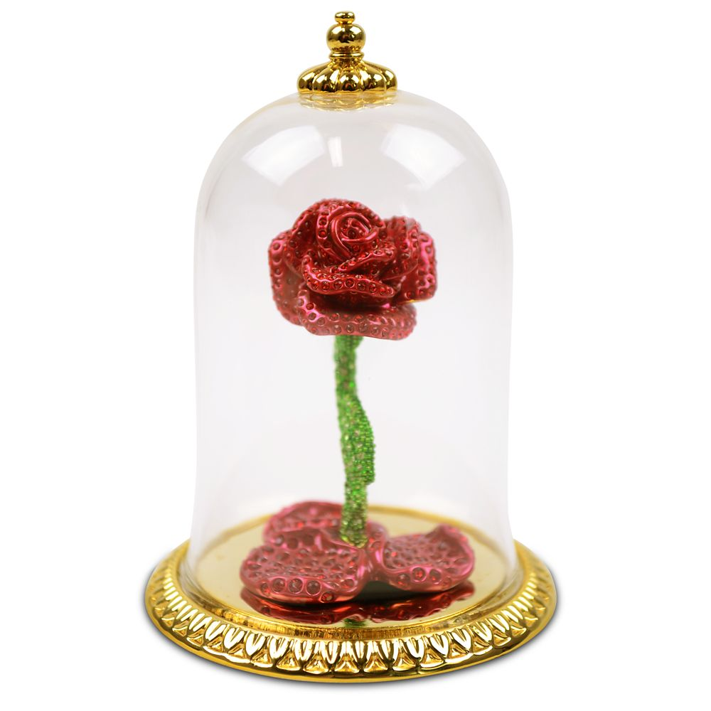 Beauty and the Beast Jeweled Enchanted Rose by Arribas – Limited Edition