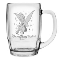 Tinker Bell Glass Mug by Arribas – Large – Personalized