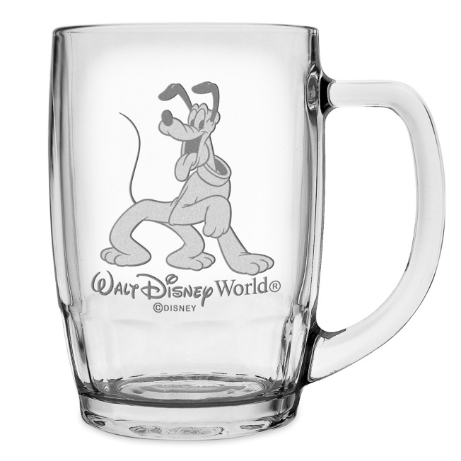 Pluto Glass Mug by Arribas – Large – Personalized