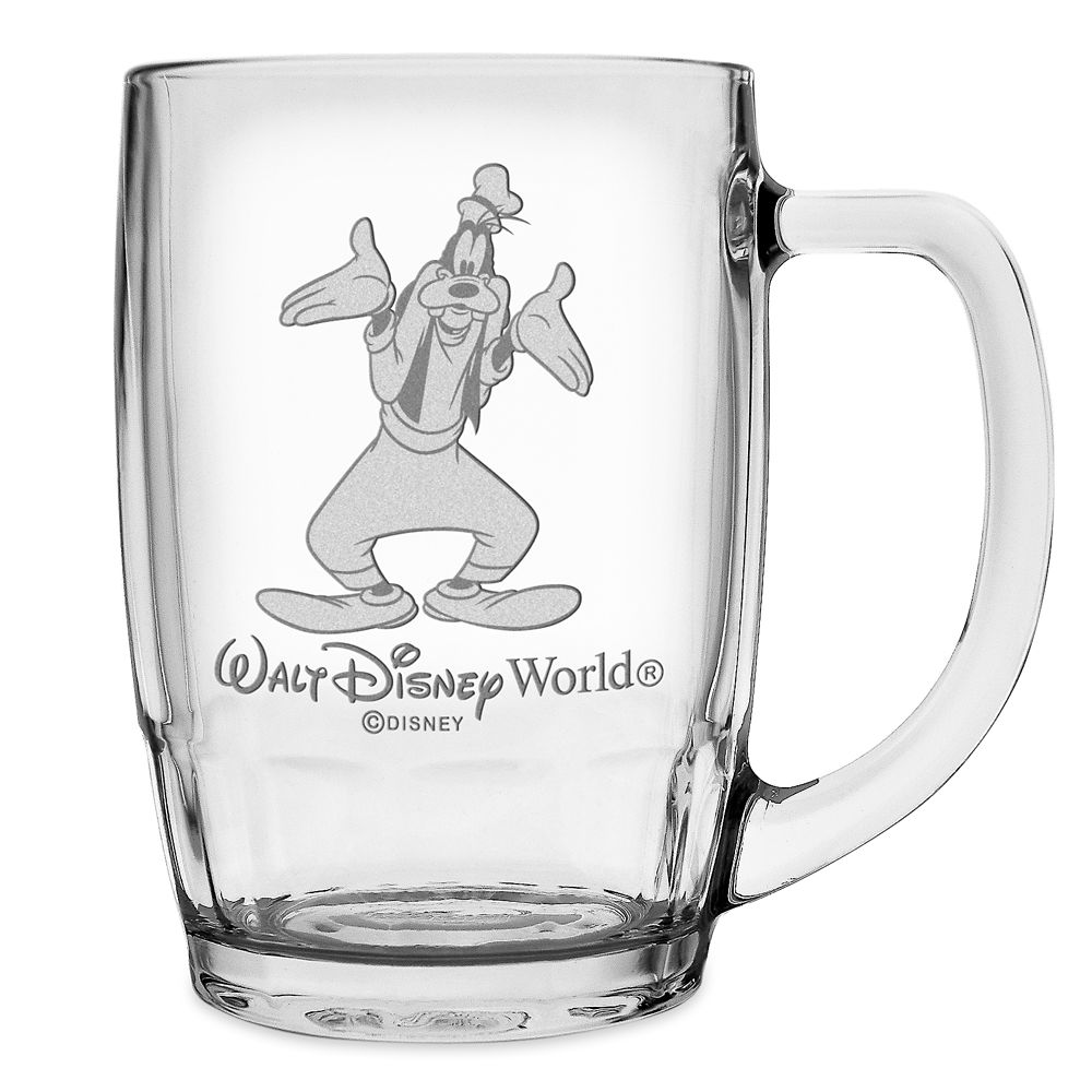 Goofy Glass Mug by Arribas – Large – Personalizable