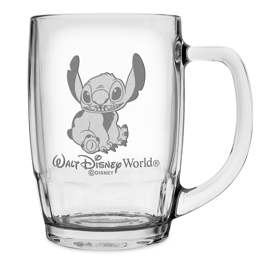 Stitch Glass Mug by Arribas – Large – Personalizable