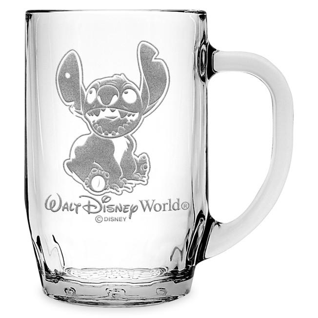 Stitch Glass Mug by Arribas – Large – Personalized