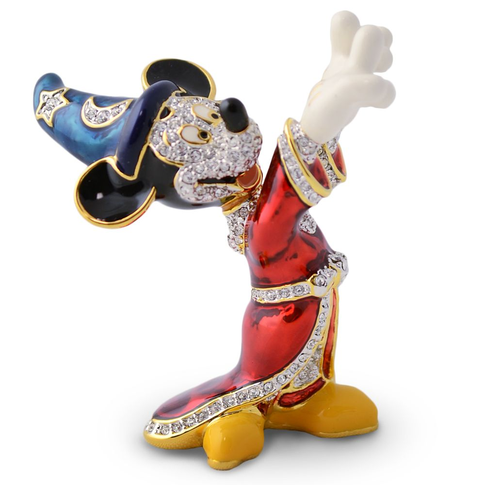 Sorcerer Mickey Mouse Jeweled Figurine by Arribas Official shopDisney