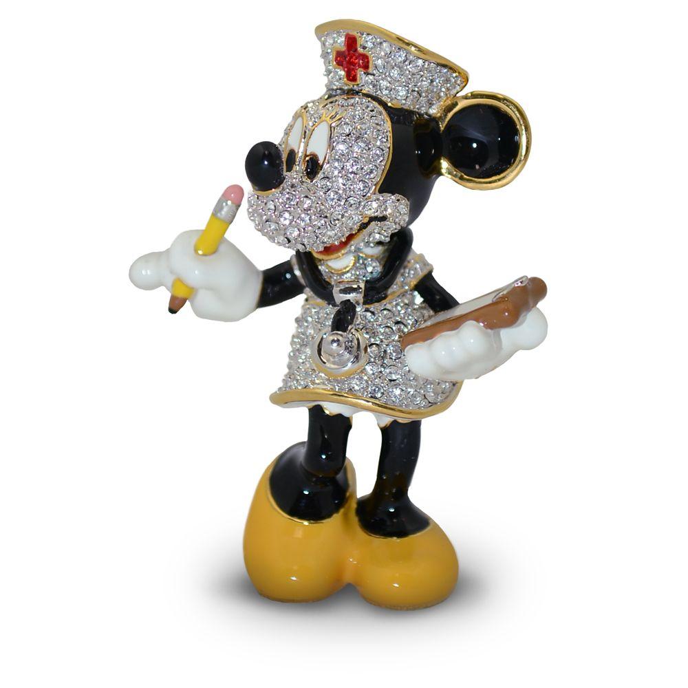 Minnie Mouse Nurse Jeweled Figurine by Arribas