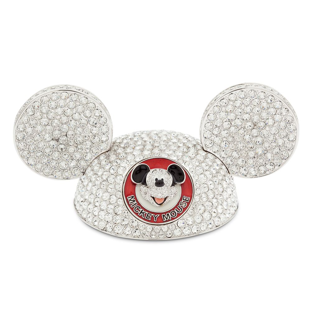 Mickey Mouse Ear Hat Jeweled Figurine by Arribas  Limited Edition Official shopDisney