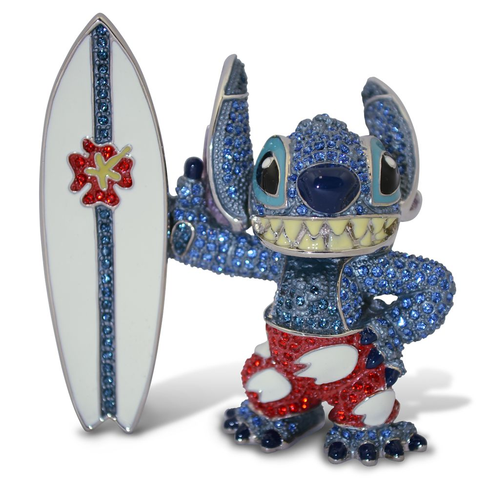 Stitch Jeweled Figurine by Arribas Brothers