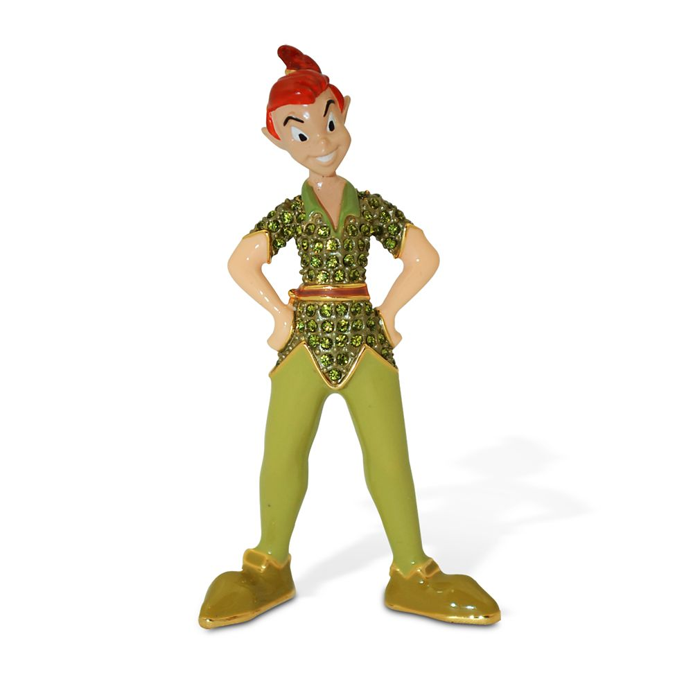 Peter Pan Jeweled Figurine by Arribas Brothers