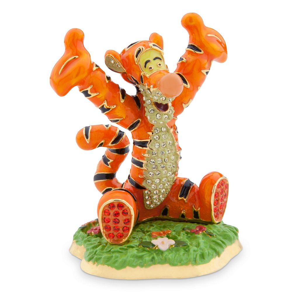 Tigger Jeweled Figurine by Arribas Brothers