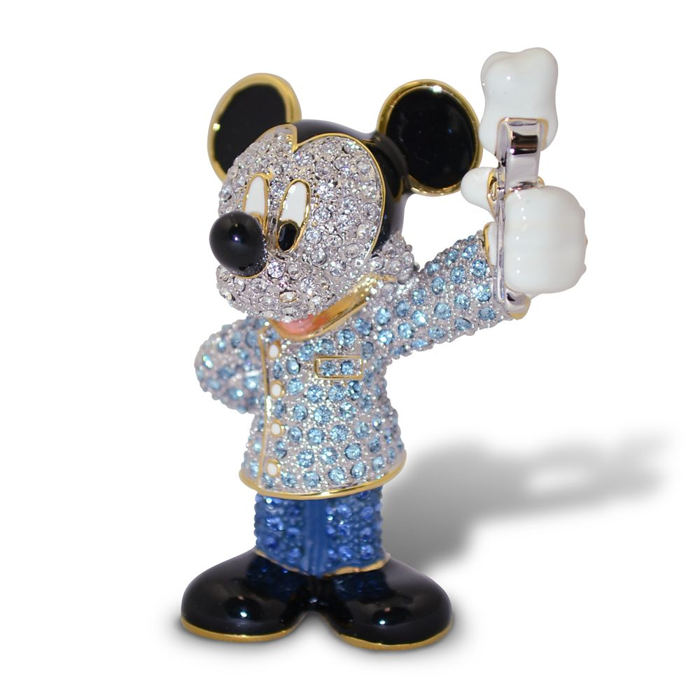 Mickey Mouse Dentist Jeweled Figurine by Arribas Brothers