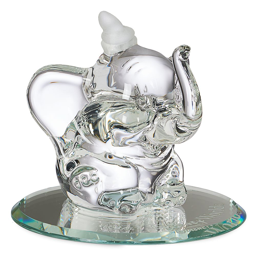 Dumbo Glass Figurine by Arribas – Walt Disney World