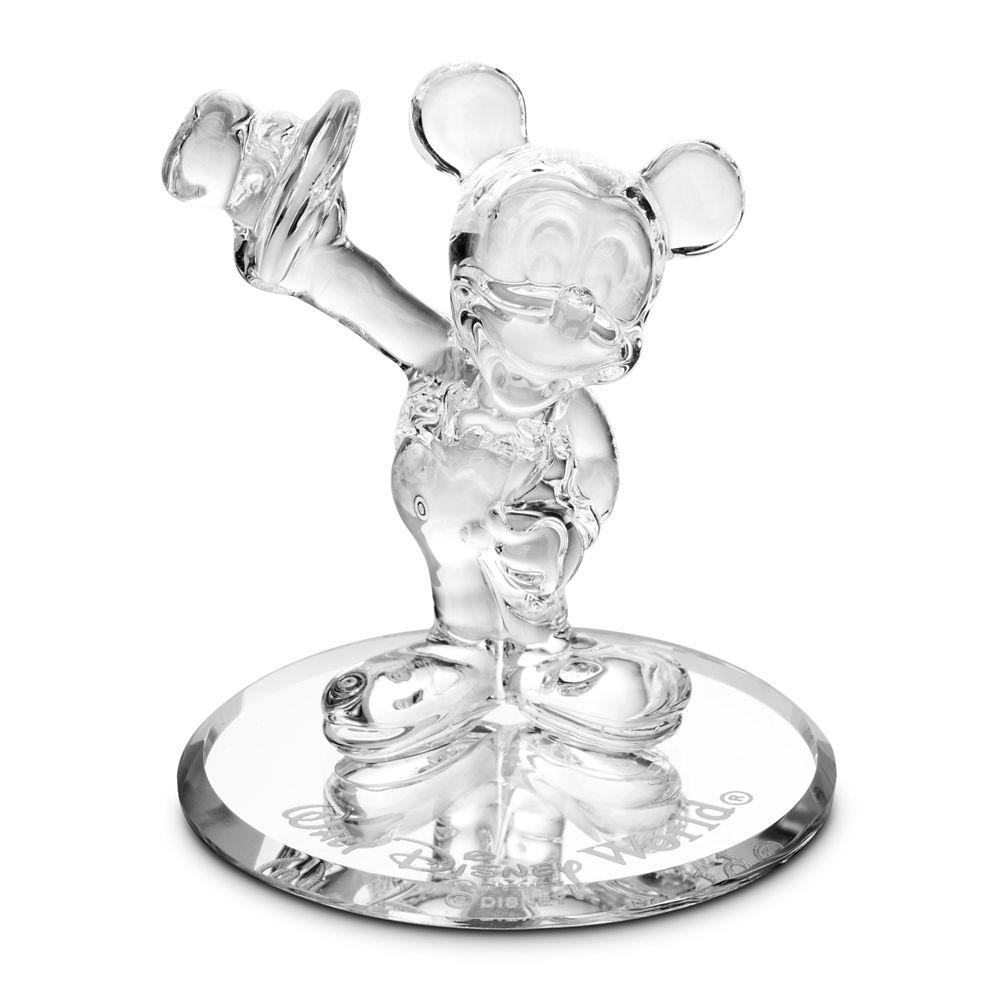 Mickey Mouse Glass Figurine by Arribas – Walt Disney World