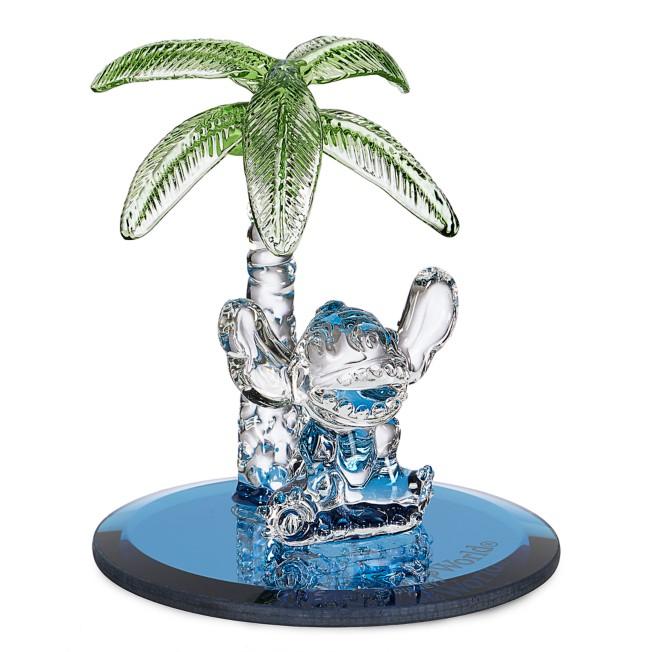 Stitch Palm Tree Figurine by Arribas – Walt Disney World
