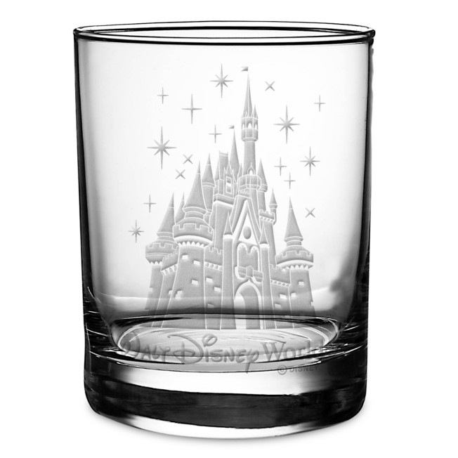 Cinderella Castle Glass by Arribas – Personalized