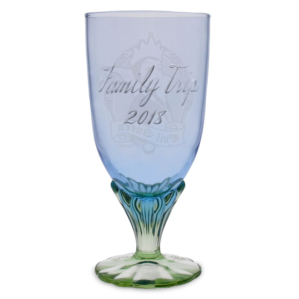Evil Queen Glass Goblet by Arribas – Personalized