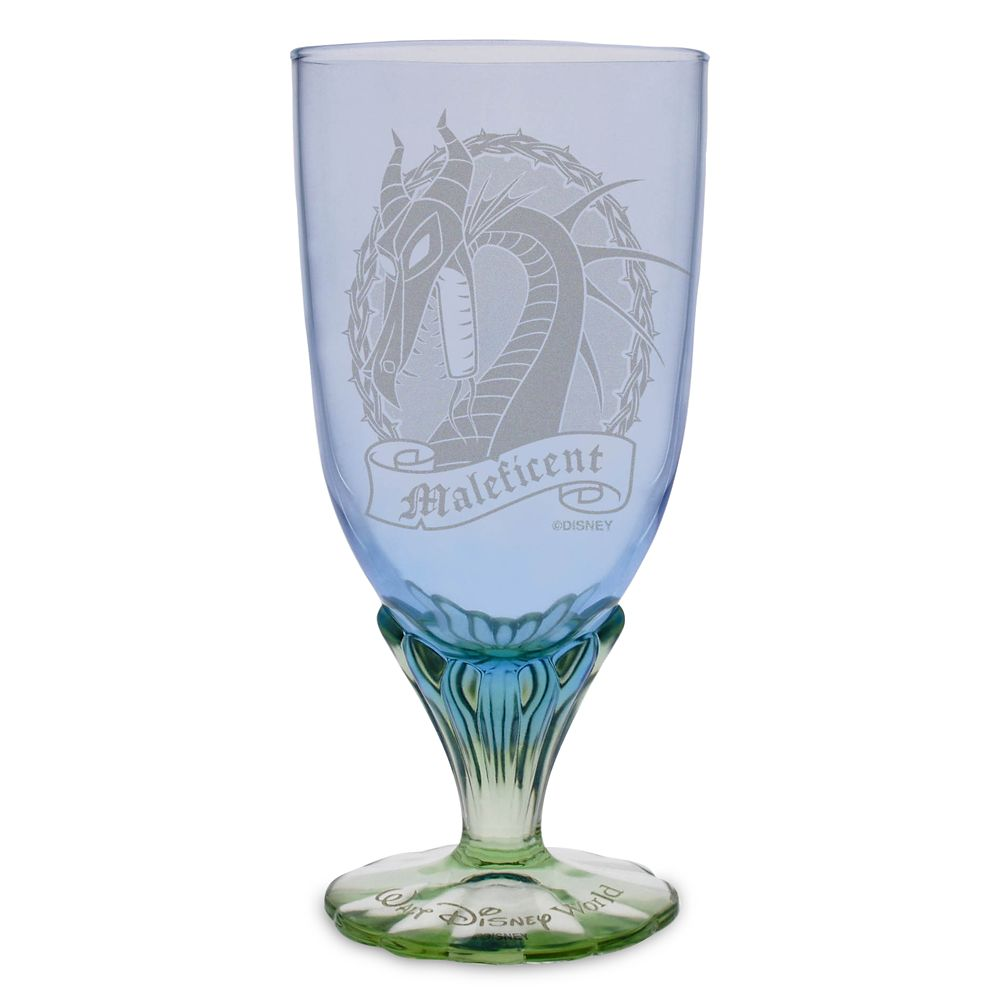 Maleficent Dragon Glass Goblet by Arribas – Personalized