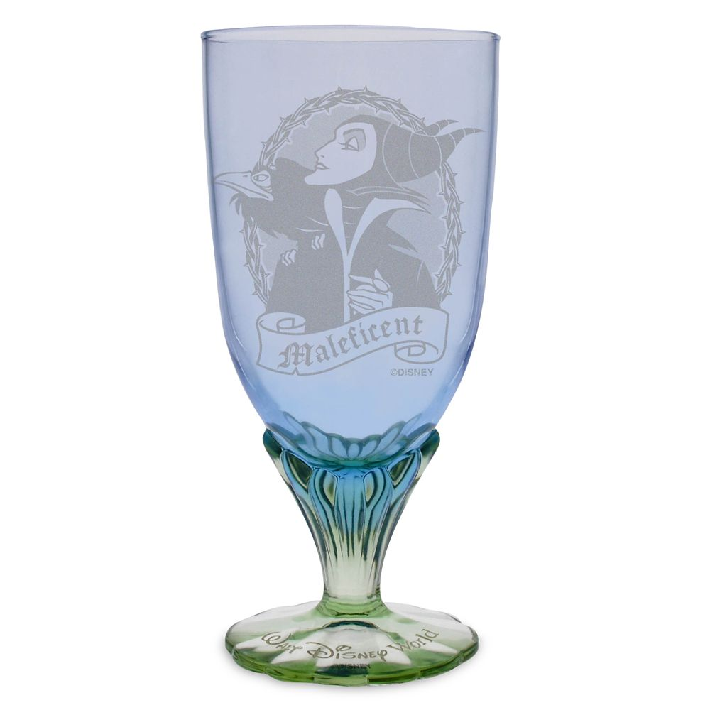 Maleficent Glass Goblet by Arribas – Personalized
