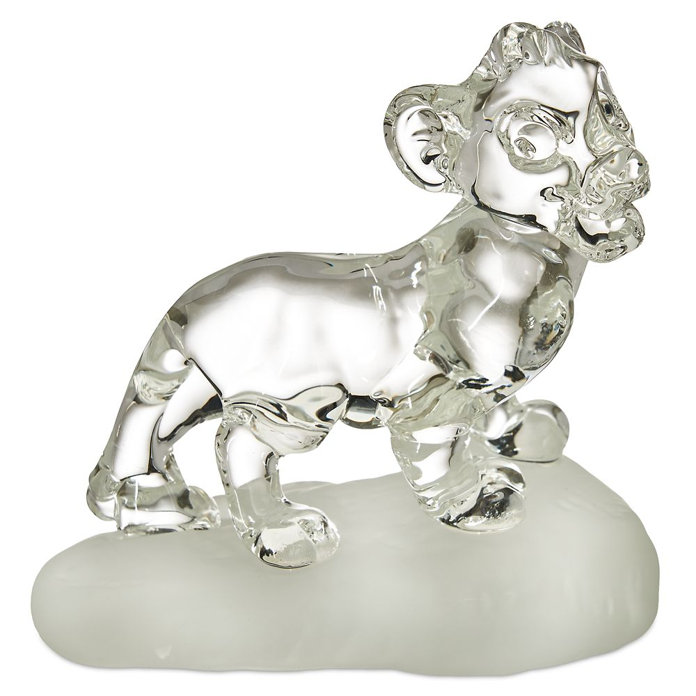 Simba Glass Figure by Arribas Brothers – The Lion King