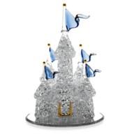 Disney Fantasyland Castle Blown Glass Figure by Arribas