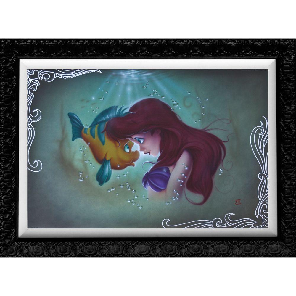 ''Ariel Flounder'' Giclée by Noah