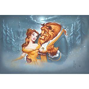 "Beauty and the Beast ""Evening Waltz"" Giclée by Noah"