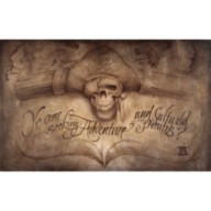 Pirates of the Caribbean ''High Seas Adventure'' Giclée by Noah