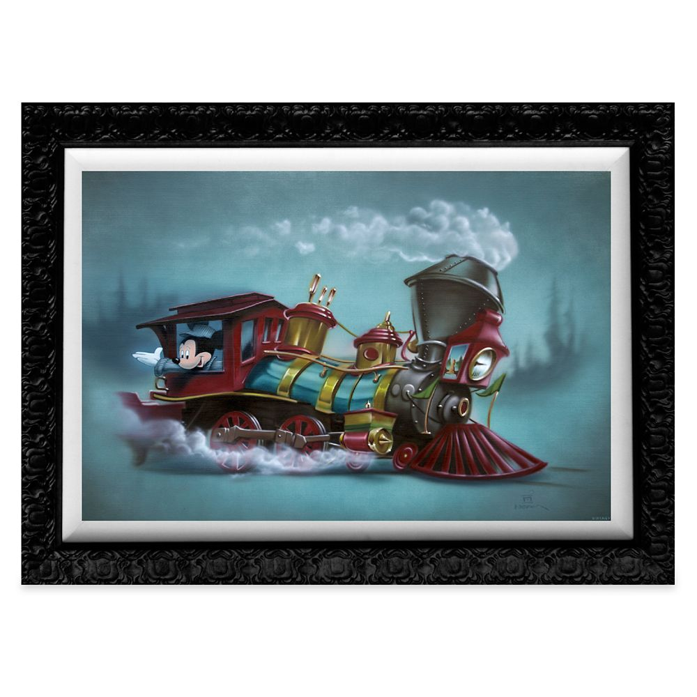 Mickey Mouse ''Little Engin'ear''' Giclée by Noah