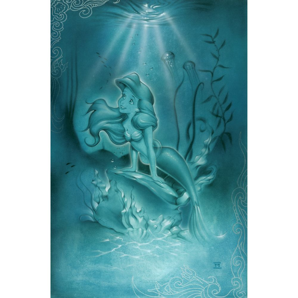 Ariel ''Little Mermaid'' Giclée by Noah Official shopDisney