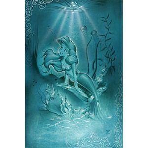 Ariel ''Little Mermaid'' Giclée by Noah