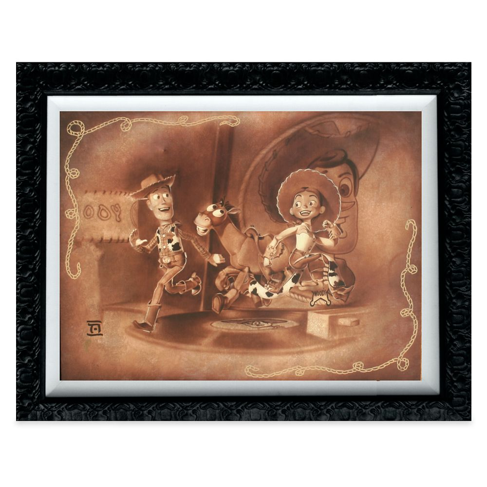 Woody and Jessie ''Roundup Gang'' Giclée by Noah