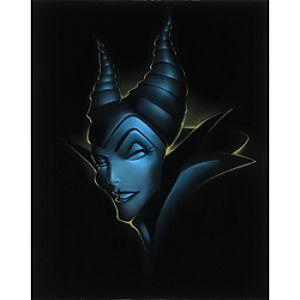 """""""Villain Maleficent"""" Giclée by Noah"""