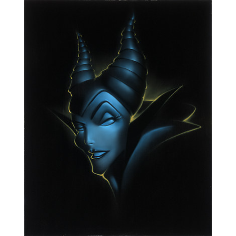 ''Villain Maleficent'' Giclée by Noah