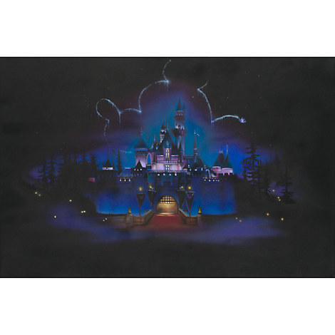 Disneyland ''While Everyone Sleeps'' Giclée by Noah