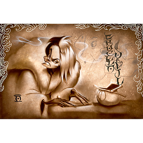 Cruella De Vil ''Name Your Price'' Giclée by Noah