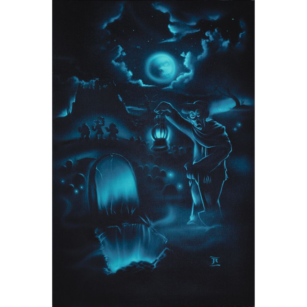 The Haunted Mansion ''Room 4 1 More'' Giclée by Noah