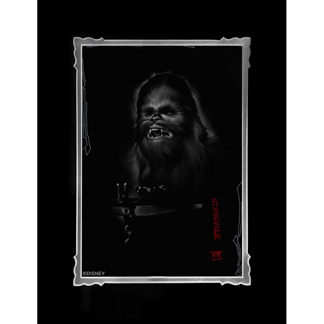 Chewbacca Deluxe Print by Noah