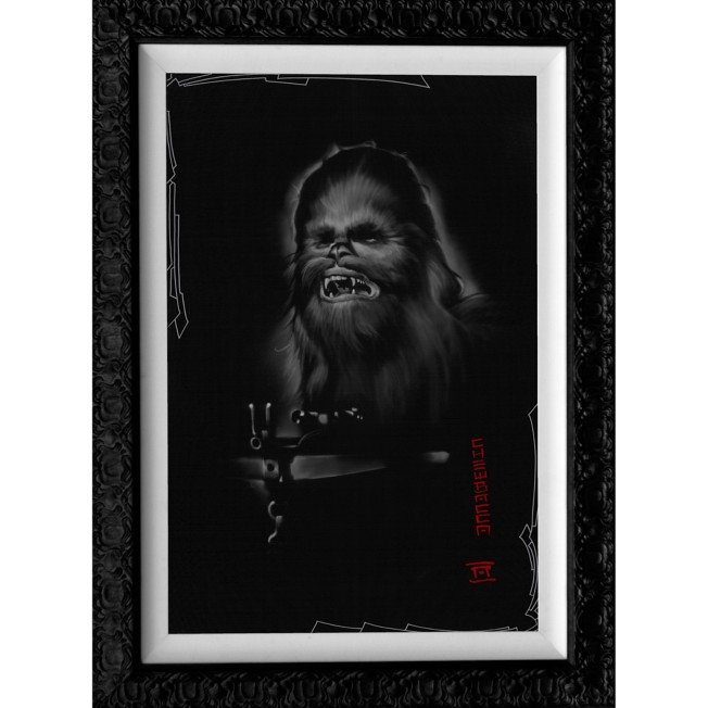 Chewbacca Limited Edition Giclée by Noah