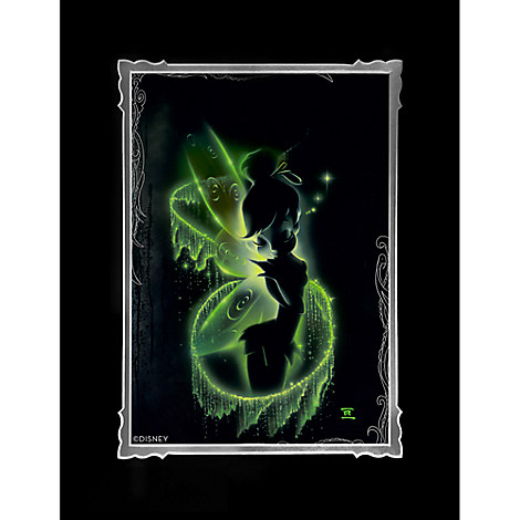 Tinker Bell ''Faith, Trust, and Pixie Dust'' Deluxe Print by Noah
