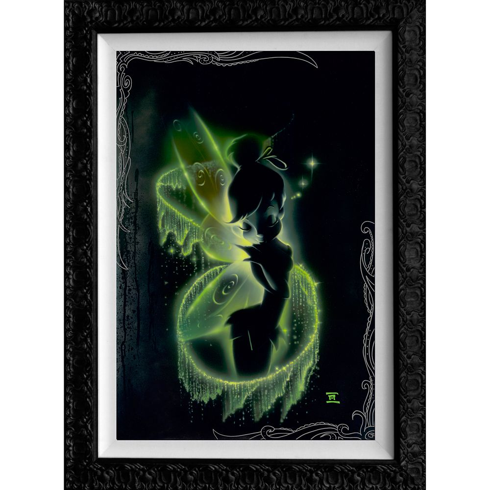 Tinker Bell ''Faith, Trust, and Pixie Dust'' Limited Edition Giclée by Noah Official shopDisney