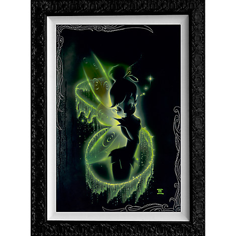 Tinker Bell ''Faith, Trust, and Pixie Dust'' Limited Edition Giclée by Noah