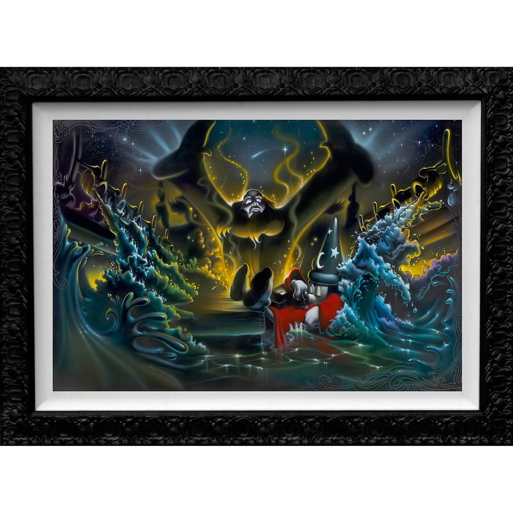 Sorcerer Mickey Mouse ''Great Flood'' Limited Edition Giclée by Noah