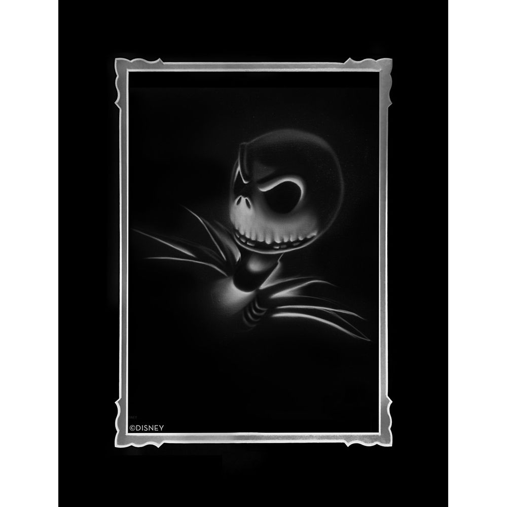 ''Jack – Nightmare Before Christmas'' Deluxe Print by Noah