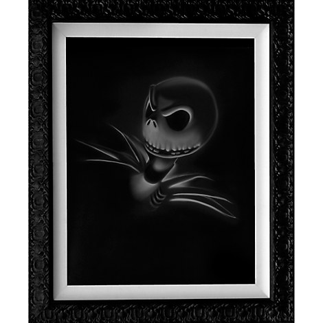 ''Jack - Nightmare Before Christmas'' Limited Edition Giclée by Noah