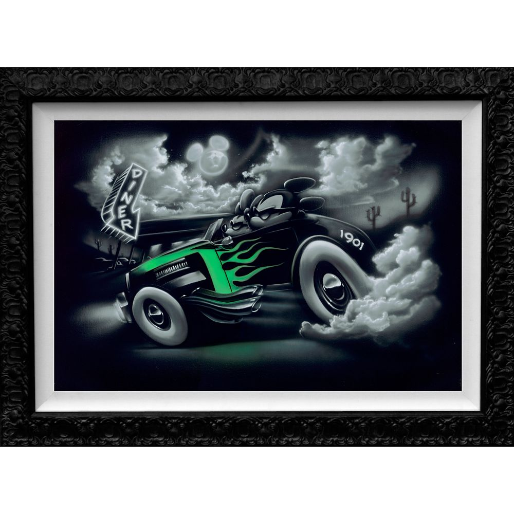 Mickey Mouse ''Out for a Cruise with My Girl'' Limited Edition Giclée by Noah