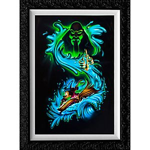 """Sorcerer Mickey Mouse """"Waves of Magic"""" Limited Edition Giclée by Noah"""